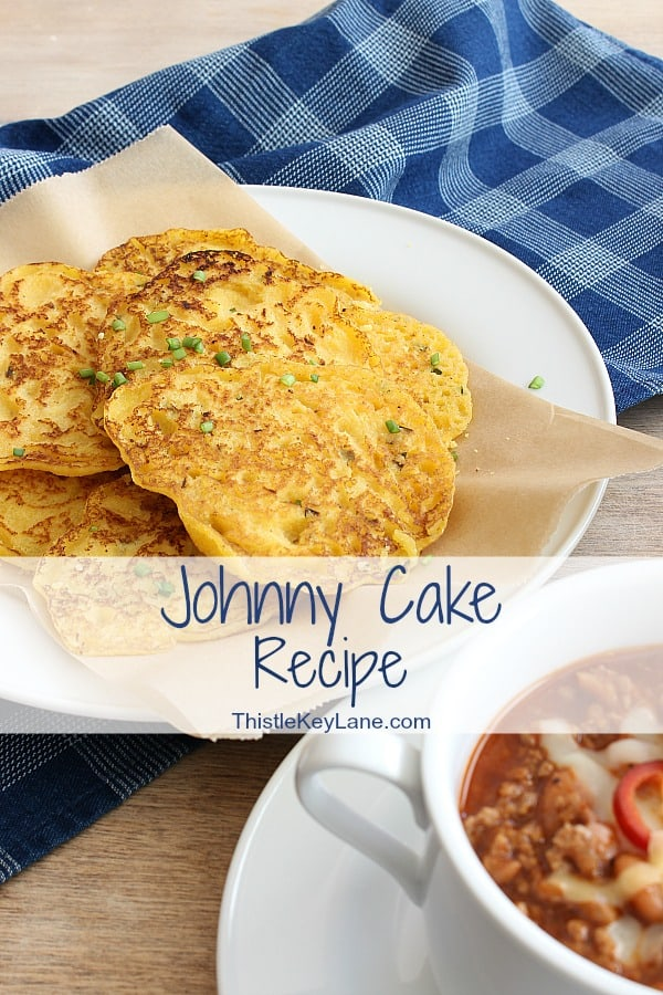 Johnny Cake Recipe With Green Onions And Chives - serve with hot chili.