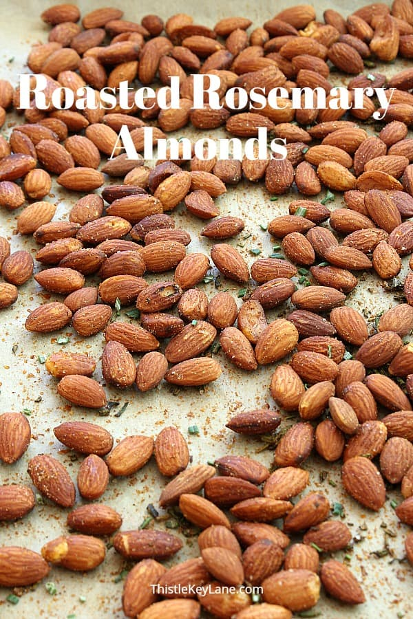 Roasted Rosemary Almonds Recipe Healthy Snack