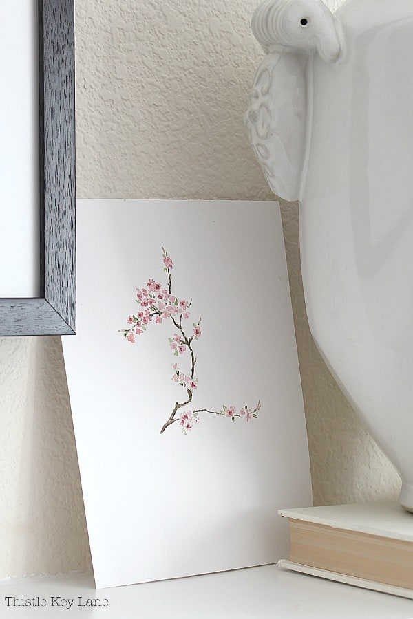 Early Spring Mantel Decorating Ideas