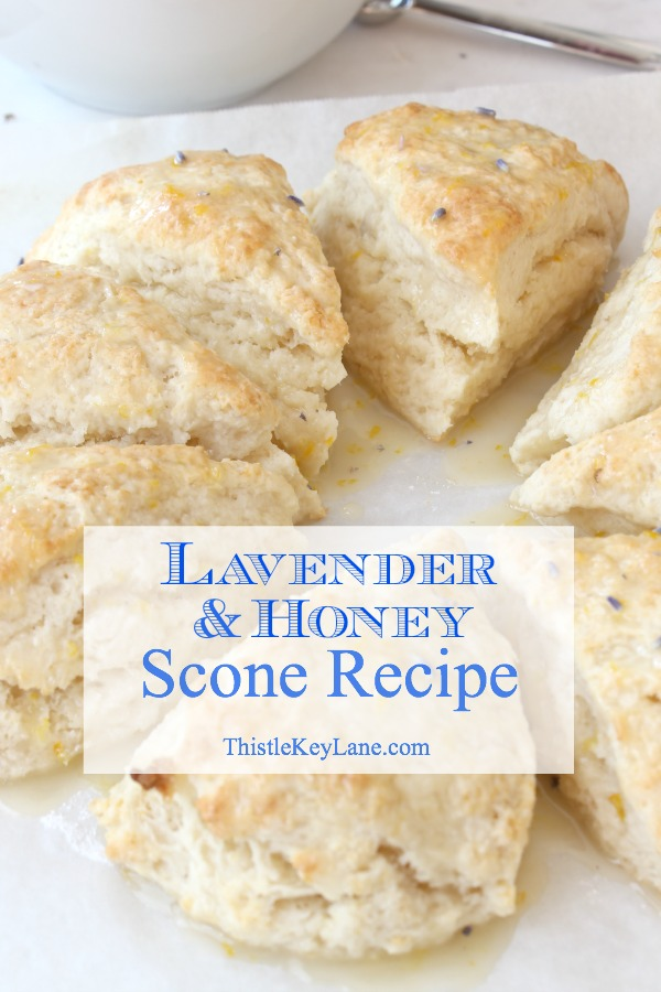 Lavender and Honey Scone Recipe