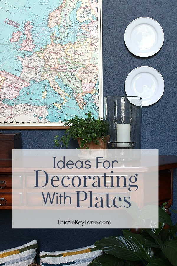Ideas For Decorating With Plates