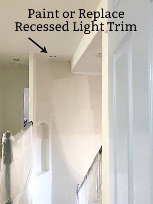 Update Recessed Light Trim