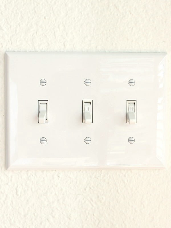 Update Light Switch Covers - Make Your Home Look New After Painting
