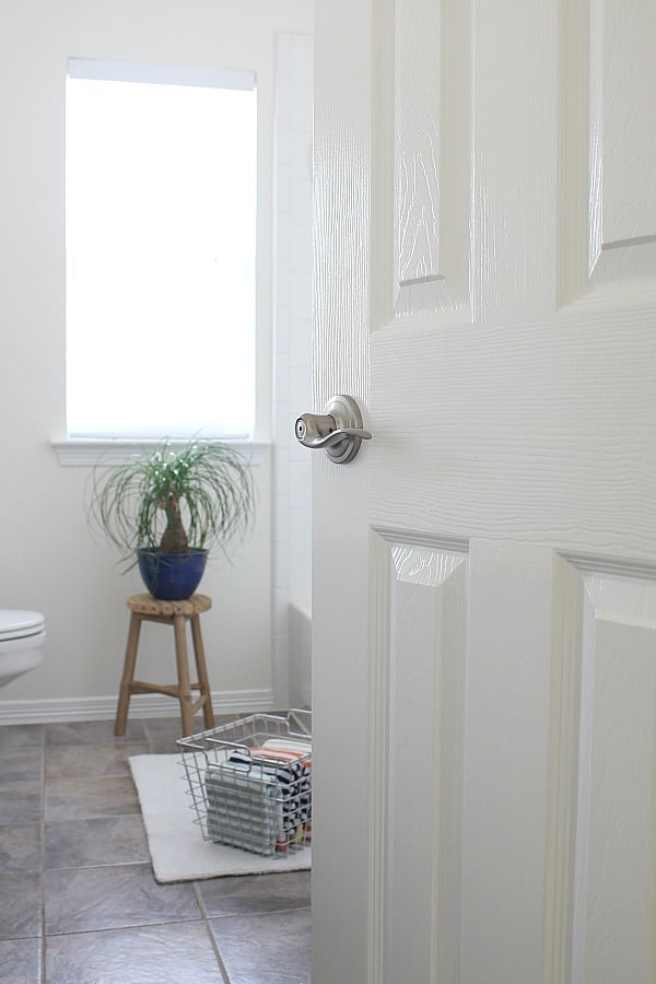 Update door paint -Make Your Home Look New After Painting