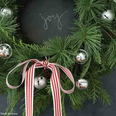 How To Update A Wreath With Greenery