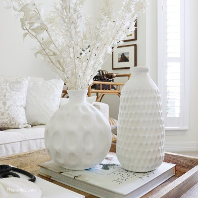 Easy Thrift Store Vase Makeover With Paint