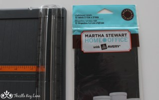 Martha Stewart Chalkboard Labels