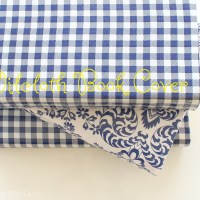 Oilcloth Book Covers