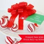 Fruit Roll-Up Ribbon Cake