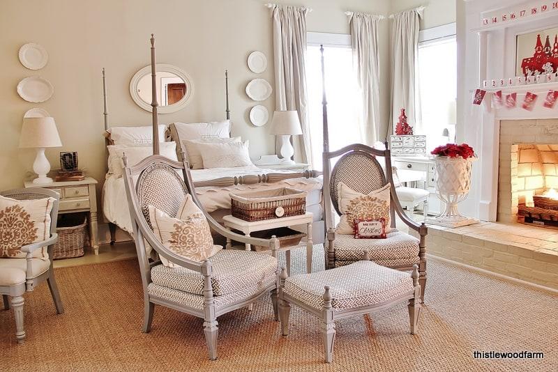 Thistlewood Christmas Bedroom
