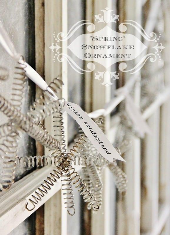 Make It Snowflake Ornament