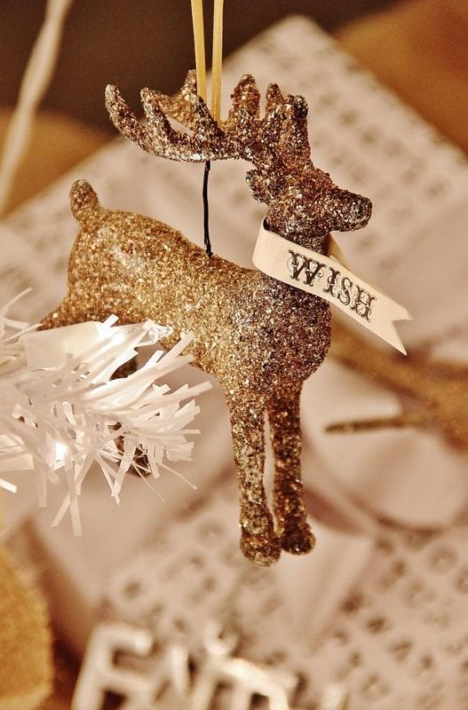 Reindeer Ornament Thistlewood