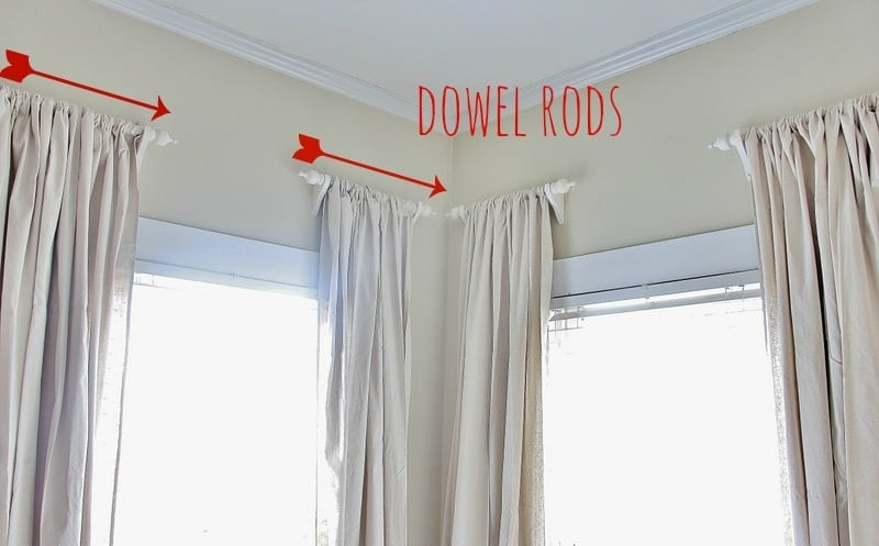 Make Your Own Custom Curtain Rods For 5 Thistlewood Farms