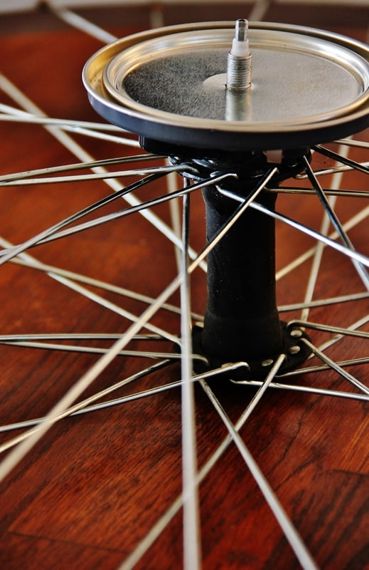 attach to wheel for your bicycle wheel clock