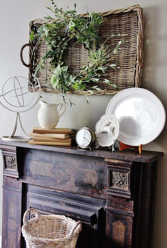 Here's some great ideas for how to decorate your mantel