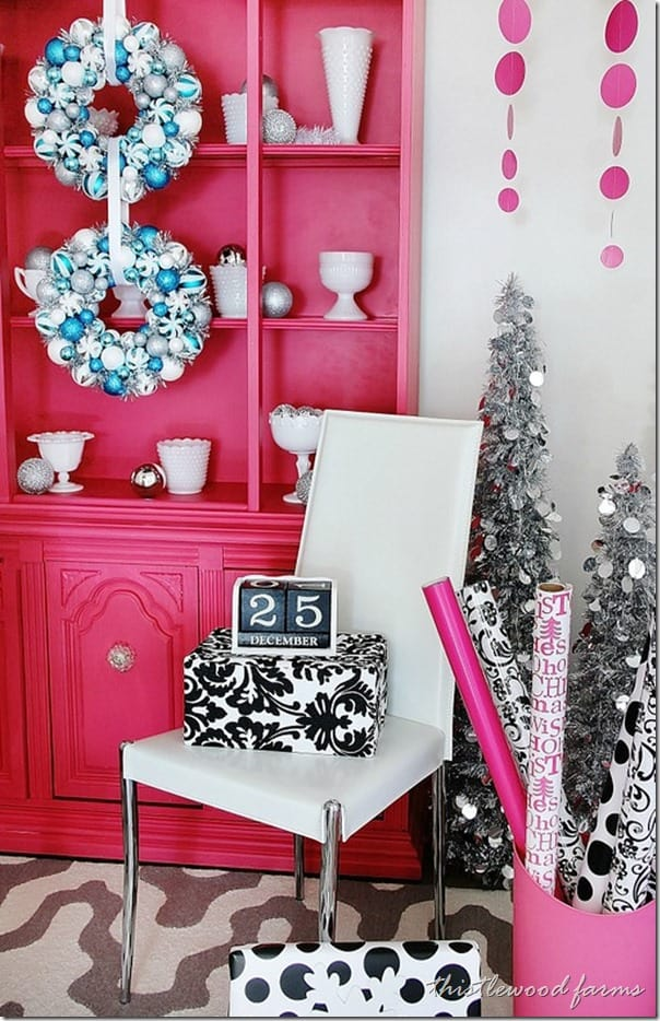 pink-and-blue-Christmas-wrapping-paper