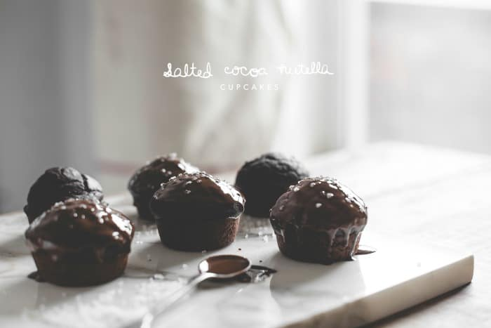 Salted Cocoa Nutella Cupcakes TEXT 2