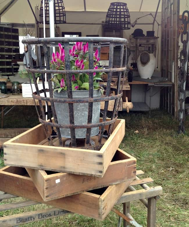 city farmhouse basket