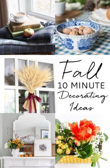 10 minute fall idea