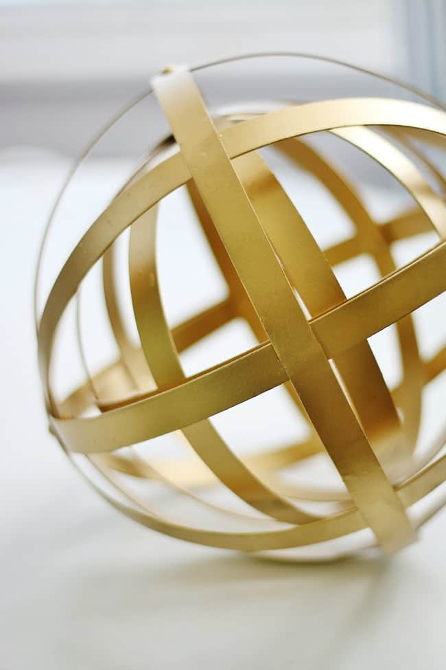 brass sphere