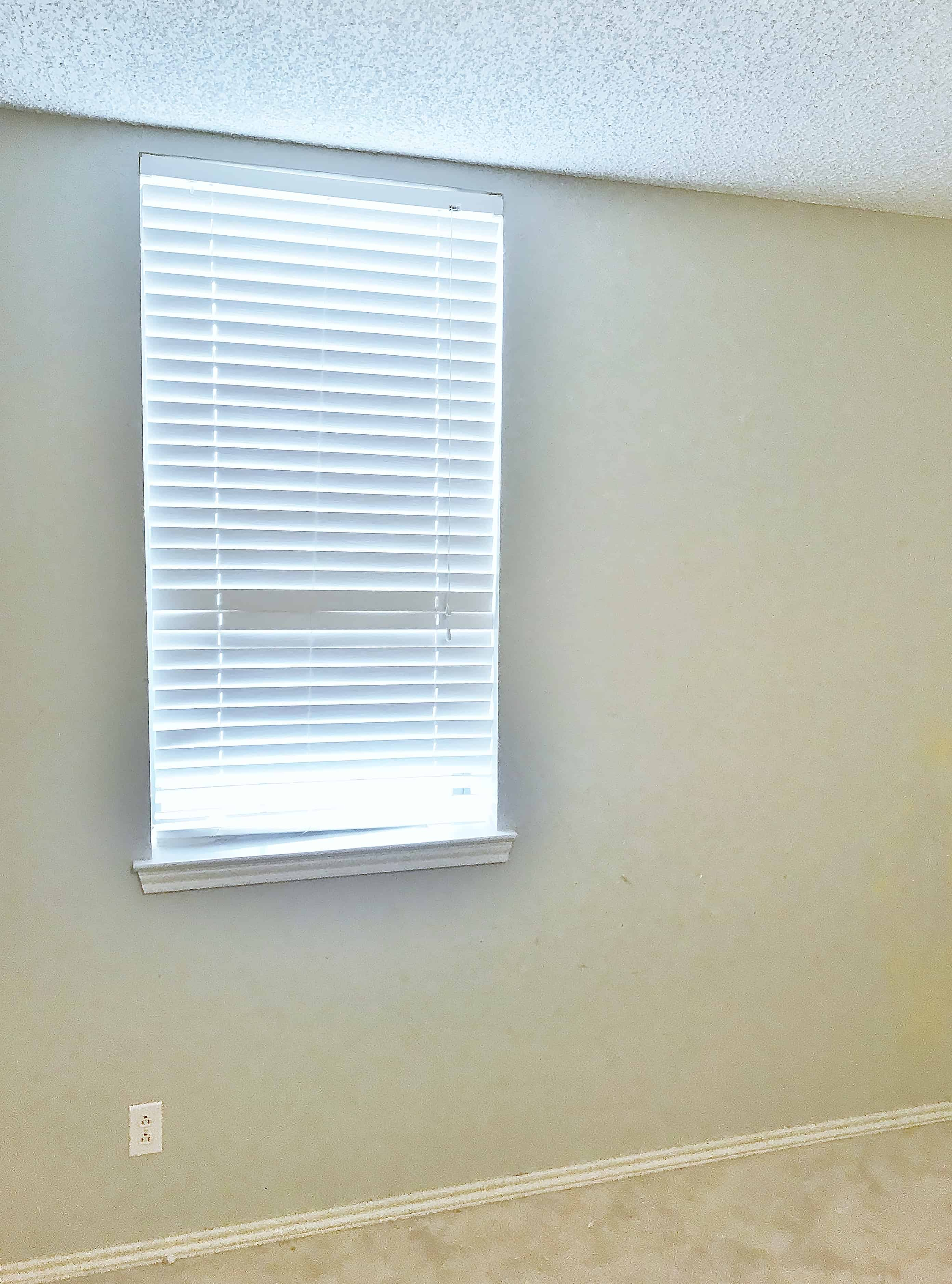accent wall before pic