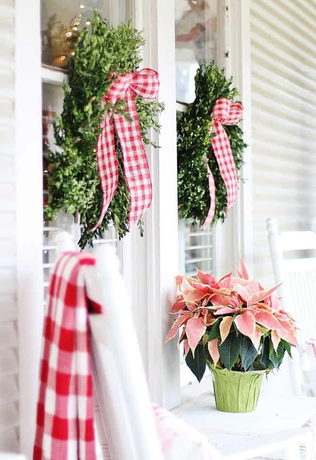 Christmas cottage decor