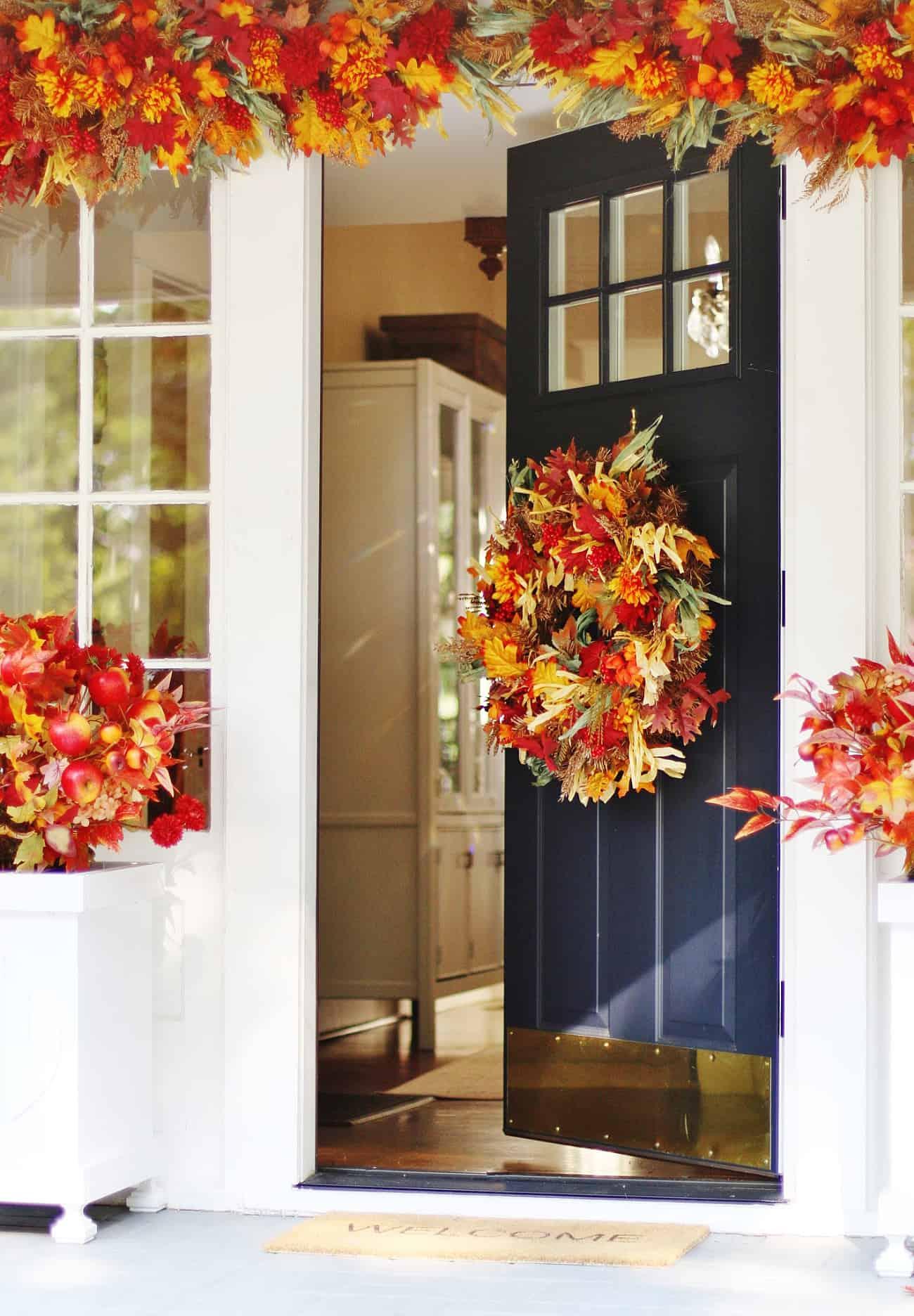 fall porch decorating ideas sunshine