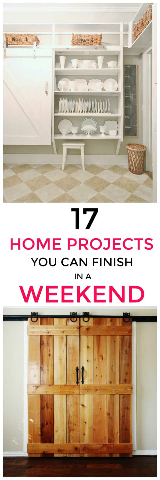 weekend projects promo graphics