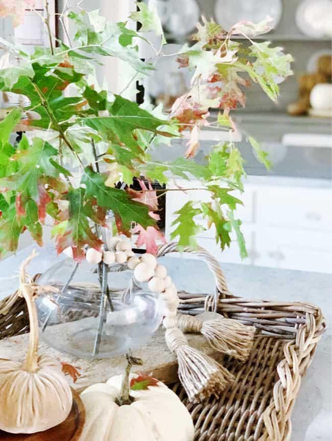 free centerpiece fall kitchen decorating ideas