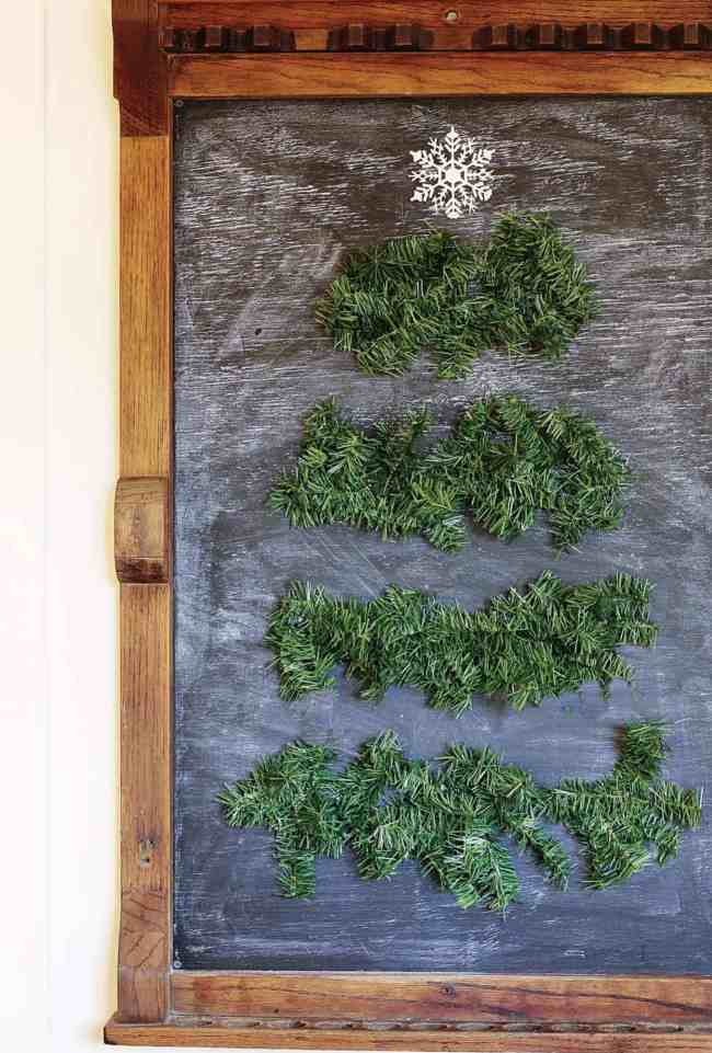 five minute diy for Christmas