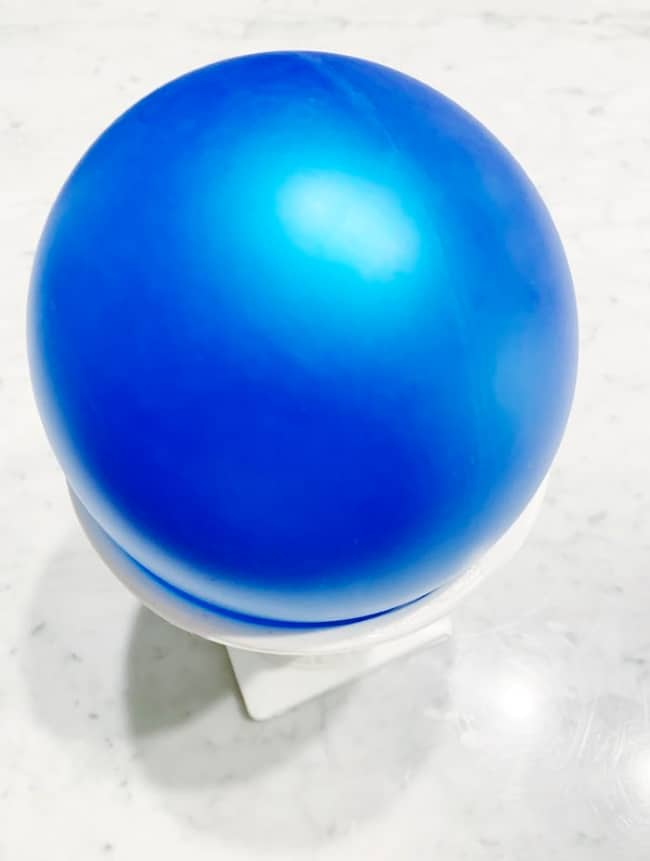 how to make a paper bowl steps with balloon