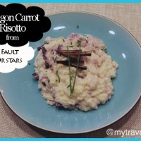 How to make Dragon Carrot Risotto from The Fault in our Stars