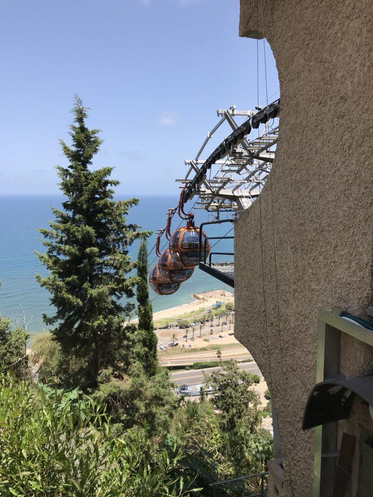 Mount Carmel Cable Car in Haifa
