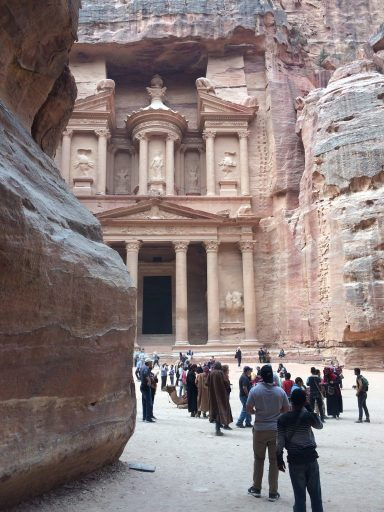 Petra the great reveal from the Siq