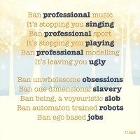 Professional Egos