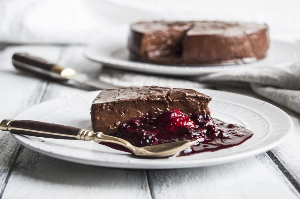 Vegan Chocolate Pudding Silk Pie