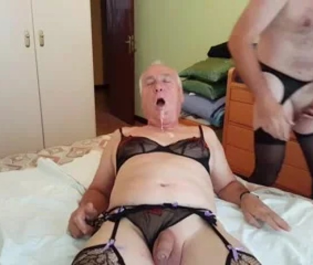 Mature Guy Takes A Big Facial