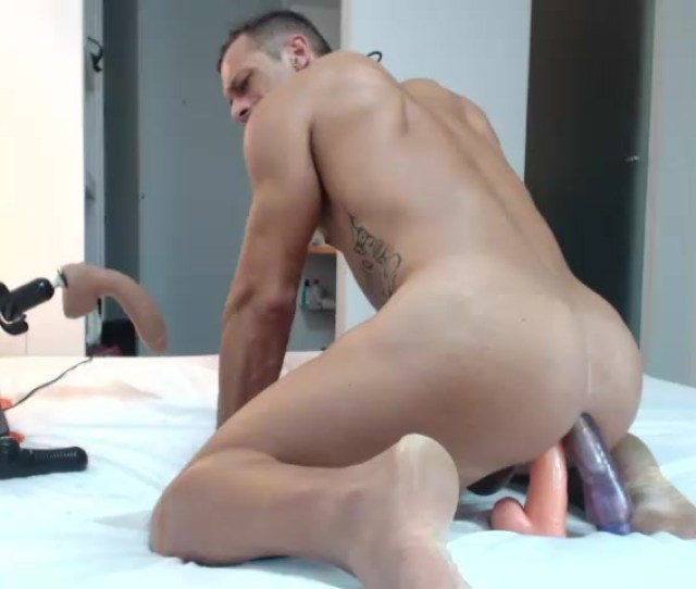 Straight Spanish Porn Actor Is A Dildo Whore On Cam Double Penetration
