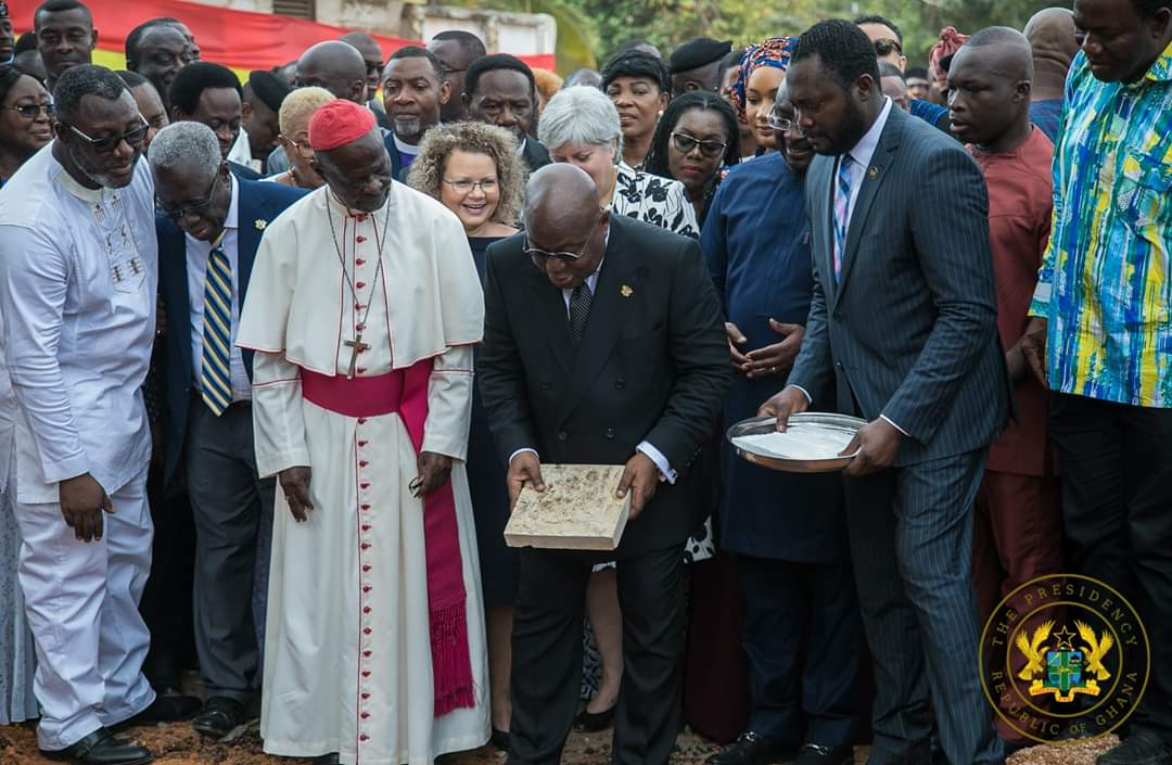 national-cathedral-is-finally-underway-prez-akuffo-addo-cuts-sod