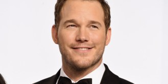HOLLYWOOD, CA - FEBRUARY 22: Actor Chris Pratt poses in the press room during the 87th Annual Academy Awards at Loews Hollywood Hotel on February 22, 2015 in Hollywood, California. (Photo by Jason Merritt/Getty Images)
