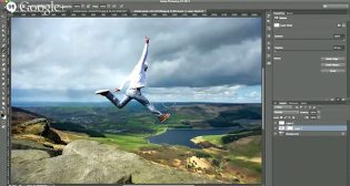 Fine-tuning the results in Photoshop