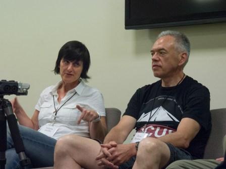 Valerie Jardin and Steve Brokaw