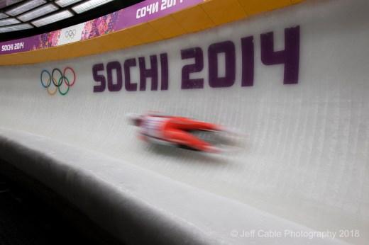 2014 Winter Olympics - Sochi, Russia Men's Luge - Sochi 2014