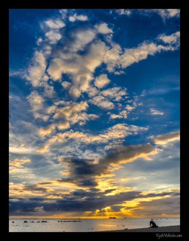 ©Kyle Nishioka - Ala Moana Sunset