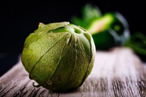 ©Howard - Tomatillo Upstages the Pepper