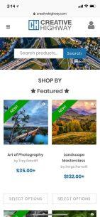 Creative Highway - iOS - Home Page