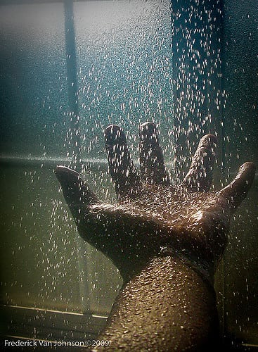 ©Frederick Van Johnson - Wet Hand