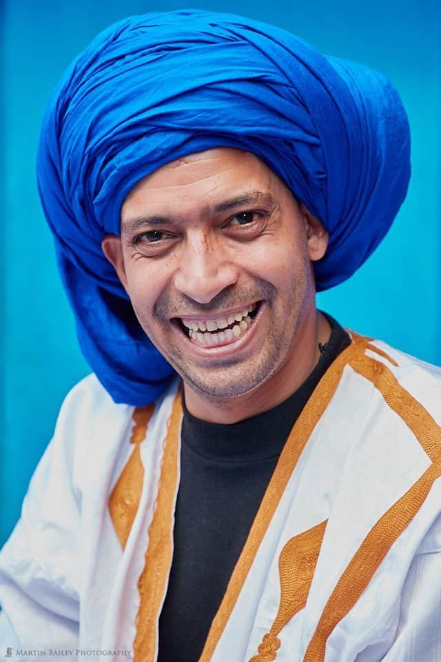 Blue Turban Man