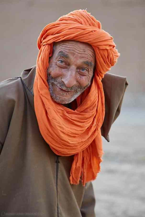 Man in Orange Turban
