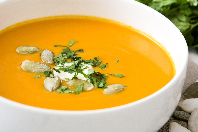 Vegan Curried Pumpkin Soup
